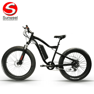 Fat Tire Electric Mountain Bike