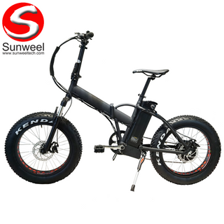 Fat Tire Folding Electric Bike 20 Inch
