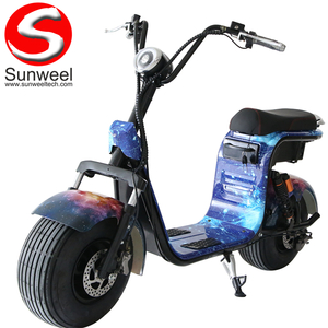 Newest Freestyle Fat Tire Electric Scooter 1000w