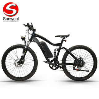 Full Suspension Electric Mountain Bike 26 Inch