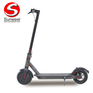 Stand Up Adult Kick Electric Scooter 8.5 Inch 36V Waterproof ElectricSkate