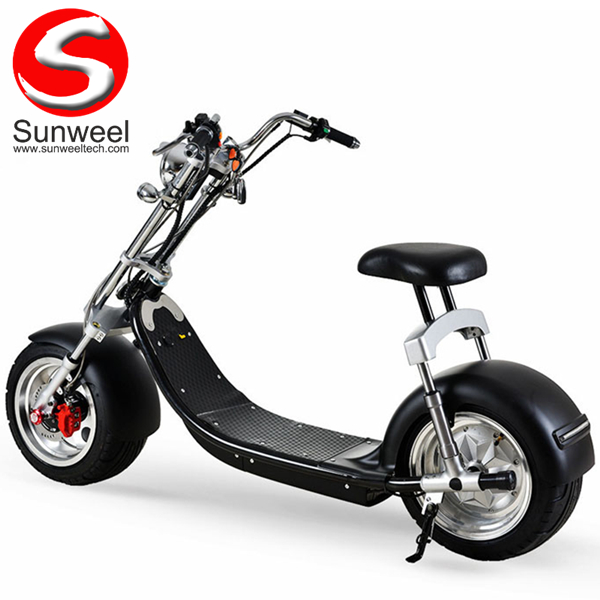Big Wheel Electric Scooter Factory Aluminum Alloy Citycoco Harley