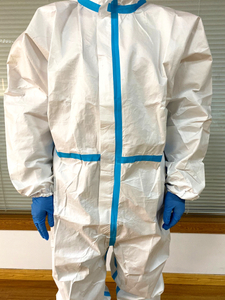 CE FDA Medical Protective Suit Disposable Coverall Isolation Medical Nonwoven Clothing