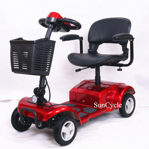 Suncycle Mobility Scooters Electric 4 Wheel Handicapped Scooter For Elderly Adult