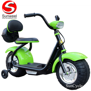 Suncycle High Quality Electrci Car Children Motorbike Kids Electric Motorcycle with LED Light