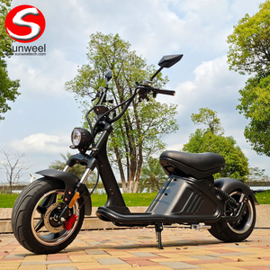 Hot Selling 3000w 40Ah COC EEC Citycoco Fat Tire Chopper Electric Scooter