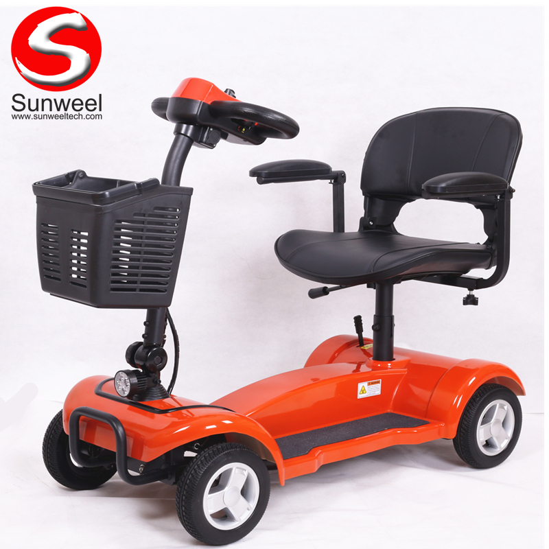 Cheap Price 4 Wheel Disabled Electric Elderly Mobility Scooter