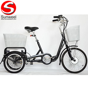 3 Wheel Electric Cargo Bike for Sale