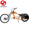 Electric Powered Chopper Bike