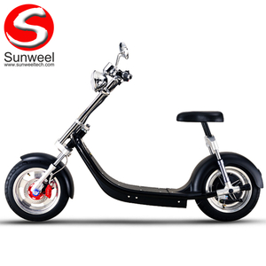 Removable battery electric harley scooter