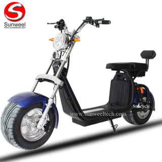 Aluminum Wheel Fat Tire Electric Scooter