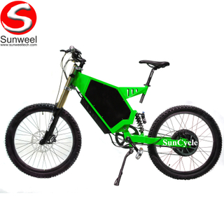 Suncycle 72v 5000w Motor Fastest Stealth Enduro Electric Bike 80km/h Racing Ebike