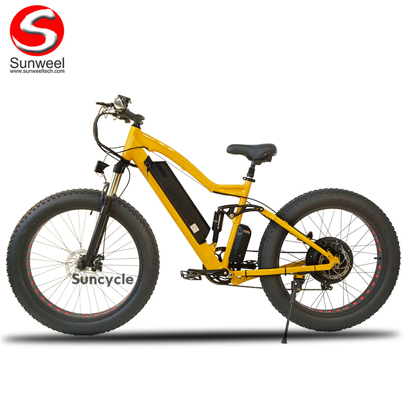 Powerful-500W-Full-Suspension-Electric-Fat-Bike