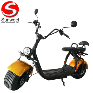 Cheapest EEC/COC Electric Scooter 60V1500W12AH Citycoco