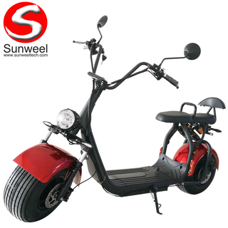 Electric Scooter/Harley City Coco 60v 1500w EEC, 2 Person, Fluid Brakes, Suspensions