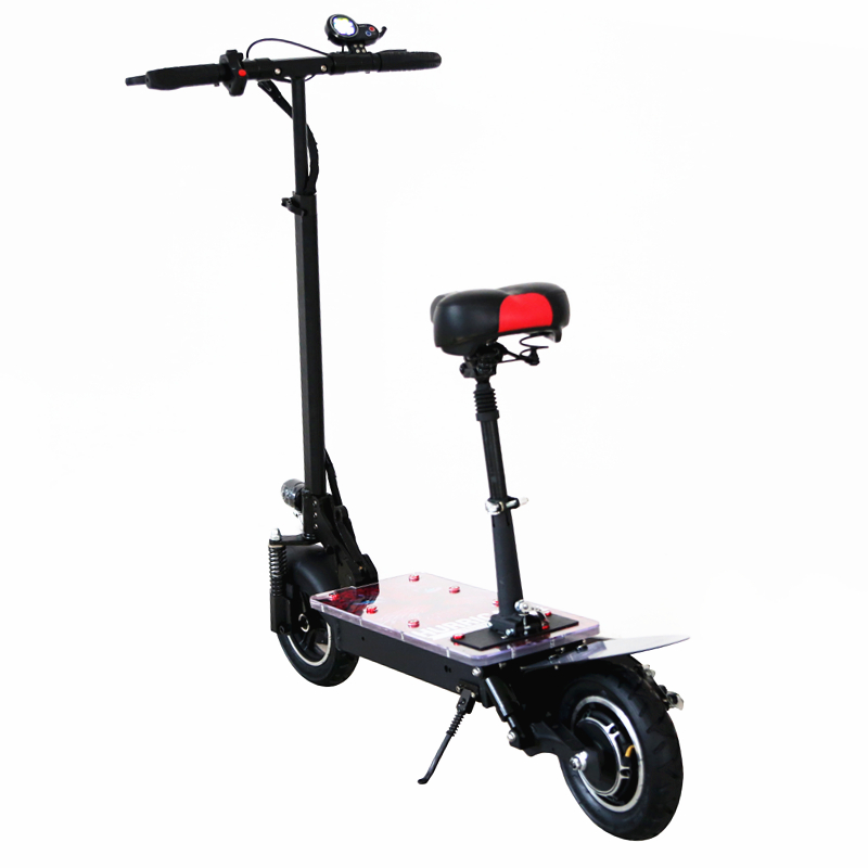Foldable Electric Scooter with Flashing Light Footboard