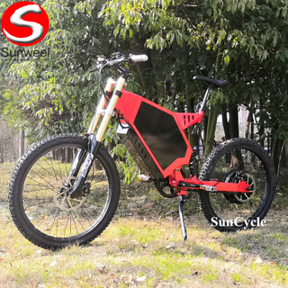 Suncycle High Powerfull 3000w Electric Bike Mountain Road Tair Electric Super Bike Motorized Bicycle