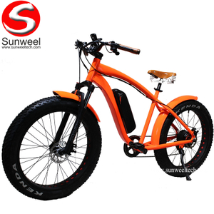 Hot Selling 500W 48V 26Inch Mountain Fat Tire Electric Bike for Man