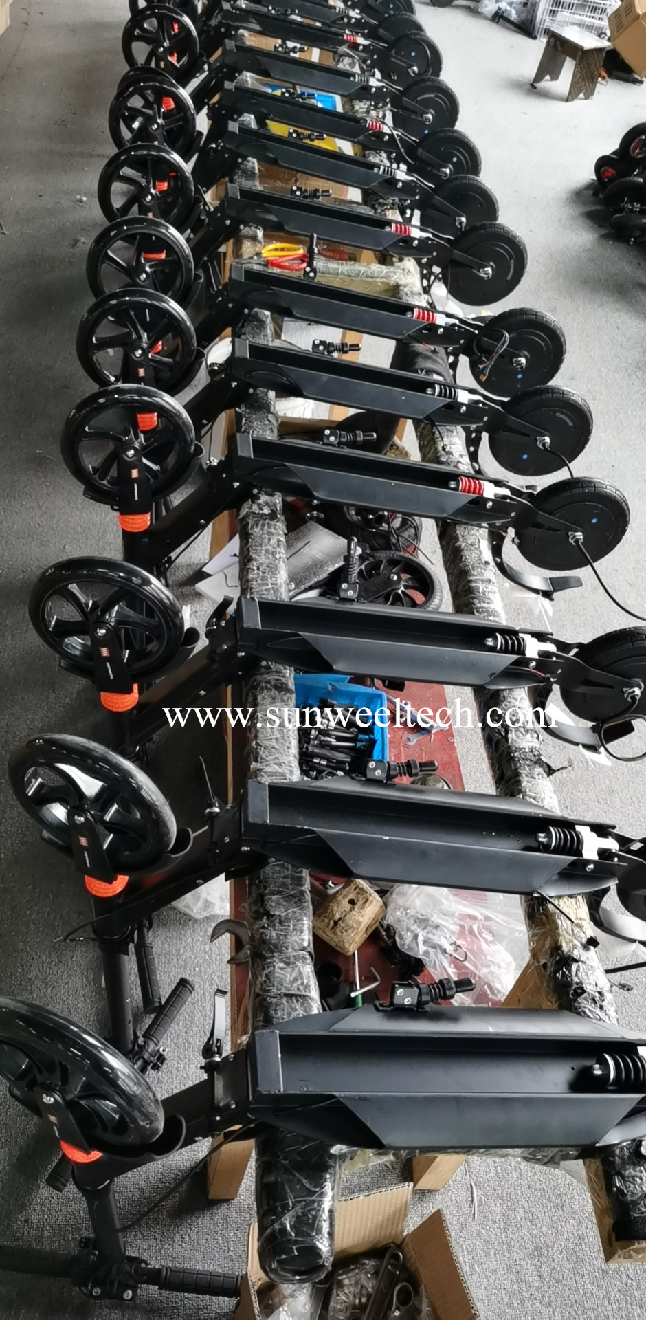 500PCS POWER ASSIST SCOOTER E9 SEND TO EUROPE