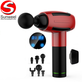 Factory Hot Sale Handheld Vibration Massager Home Electric Fascia Gun with Wholesale Price
