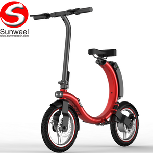 Factory Price 250W Full Folding Electric Bike Adult City Street E Bike